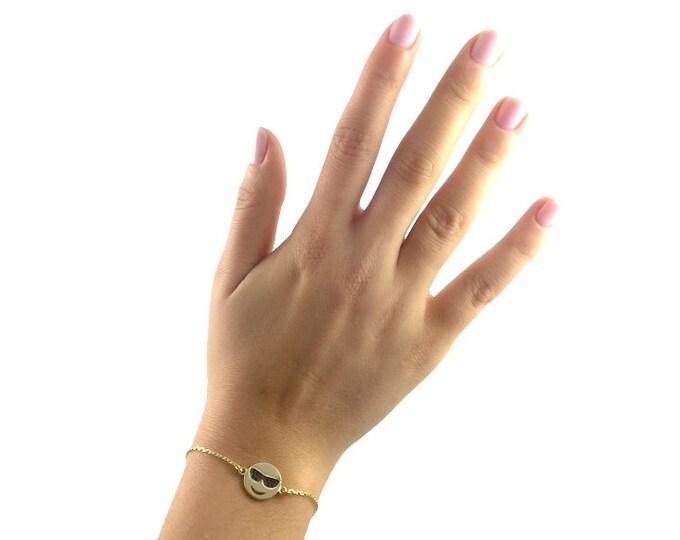 Emoji Bracelet-Cool (Adjustable)