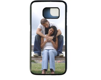 PERSONALISED CUSTOM PRINTED Hard Plastic Phone Case Cover for Samsung Galaxy S7 with any of your pictures / photos / text