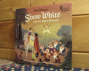 Snow White and the Seven Dwarfs - 33 1/3 Vinyl Record