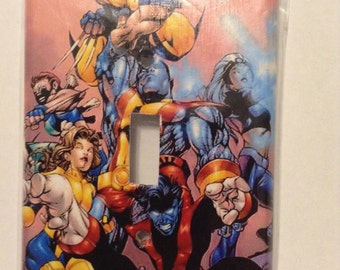 Xmen single switch plate cover