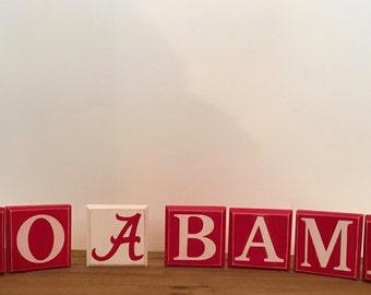 Go Bama Blocks