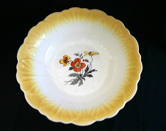 Vintage pasta dish.  Or could be used as a catch all bowl.