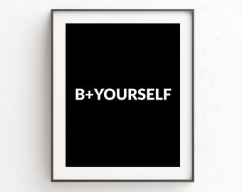 Words of Wisdom | Printable Poster | Motivational Poster