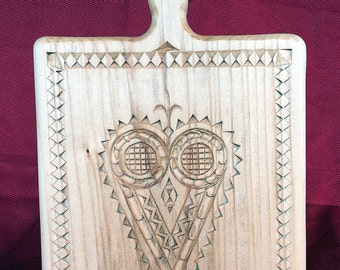 15035 Chip Carved Cutting Board
