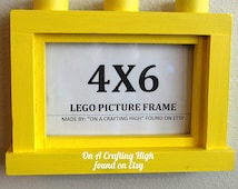 4X6 Lego Picture Frame