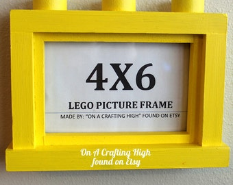 4X6 Lego Inspired Picture Frame