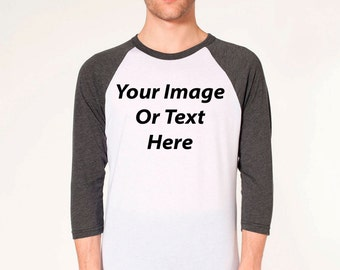 Customized Modern Baseball Raglan Shirt
