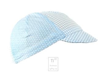 Baby blue cycling cap - cycling Cap
