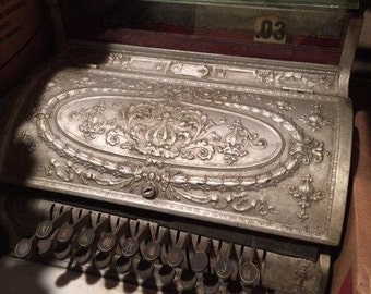 Vintage NCR Cash Register Circa 1906