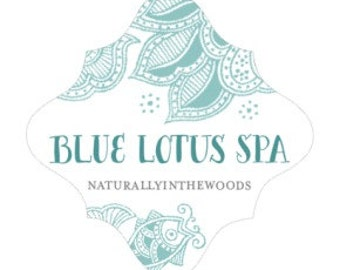 Blue Lotus Spa Pure Soy Candle
