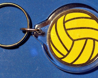 Water Polo Ball Keychain