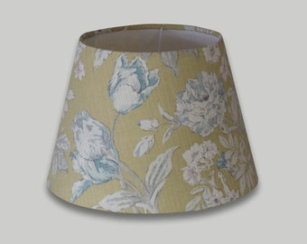 Campagna Yellow Blue White Floral Empire Lampshade Tapered Lamp Shade 25cm 30cm 35cm 40cm 50cm 60cm 70cm Table Floor Ceiling Lightshade