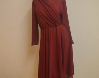 Burgandy Dress