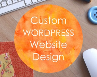 Website Design and Development - custom and professional Wordpress website design and development. Made to order bespoke website