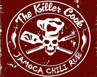 The Killer Cook's Jamoca Chili Rub