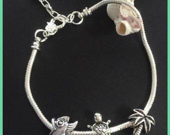 Oceanic charm bracelet