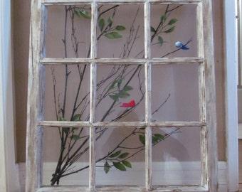 Large Window Frame Art