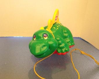 Vintage Dinosaur Pull Toy