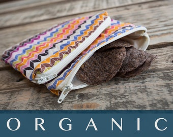 SALE - Organic Snack Bag Set - Ready to Ship