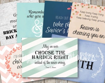 General Conference (Spring 2016) Printable Quotes *INSTANT DOWNLOAD*