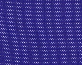 Purple Small Polka Dot Quilting 100% Cotton Fabric