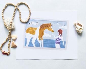 Wild Beach Pony