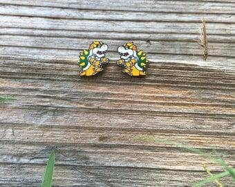 Bowser Earrings