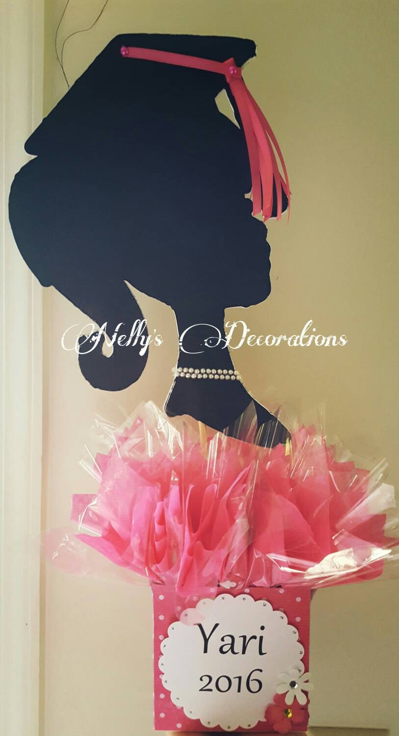 Graduation centerpieces party