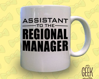 Assistant to the Regional Manager Mug