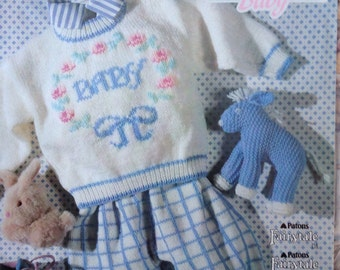 Sweet country baby knitting patterns