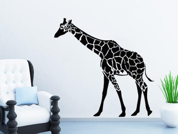 Giraffe Wall Decals Animals Vinyl Sticker Living Room Decor