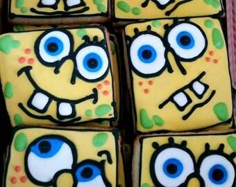 SpongeBob cookies! (12 cookies)