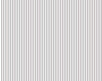 Small Stripe SPARKLE Silver by Riley Blake Designs - Metallic Pin Stripe - Quilting Cotton Fabric - by the yard fat quarter half