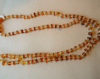 Baltic Amber String of Beads
