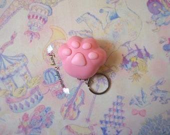 Kitty paw - keychain PINK