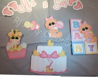 It's a girl scrapbook die cuts