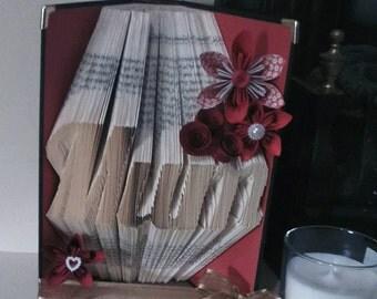 Mum Bookfolding Pattern
