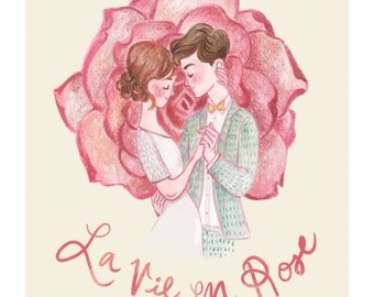 La Vie En Rose - Print
