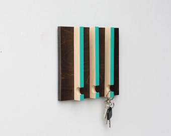 Modern Key Rack - Gift for Men, Key Holder for Wall, Wall Storage,