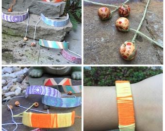 HANDMADE - Wooden Cuff Bracelets