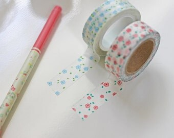 2 Pack - Floral Washi Tape