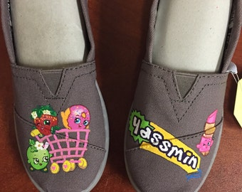 Childrens REAL TOMS custom shoes