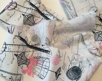Distressed Fabric/Hand Torn Ribbon/Distressed Trim/Vintage Sewing Trim/Fabric Ribbon/Shabby Trim/Hand Frayed Ribbon/Shabby Ribbon