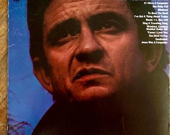 Johnny Cash Record; Hello, I'm Johnny Cash; 1970 Original Vinyl; Vintage Record