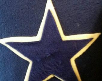 Cowboys logo pillow
