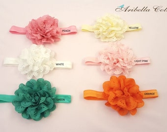 baby headbands, baby head band, headband set, lace headbands, flower  headbands, baby shower gift, girls headbands