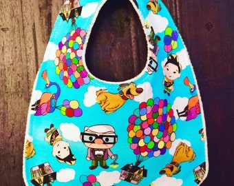 Up inspired bib handmade