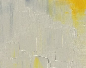 Table large abstract painting 90 x 30 contemporary