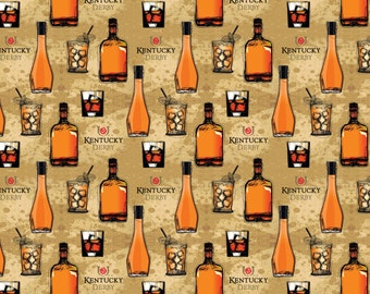 Kentucky Derby Bourbon Fabric From Springs Creative