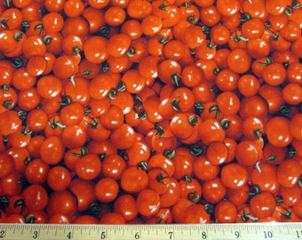Realistic Cherry Tomatoes Fabric From RJR
